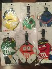 M&M'S LUGGAGE TAGS / BOOK BAG TAGS/ ID TAGS