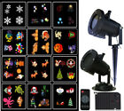 12 Patterns Christmas Fairy Light Projector Moving Laser LED Outdoor Garden Lamp