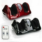 Black/Red New Shiatsu Foot Massager Kneading and Rolling Leg Calf Ankle w/Remote