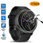 3x Premium Real Watch Screen Protector Tempered Glass Protective Film For Garmin