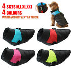 Dog Jacket Padded Extra Thick Waterproof Pet Clothes Warm Windbreaker Vest Coat