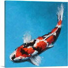ARTCANVAS Doitsugoi Koi Carp Fish Japan China Asia Canvas Art Print