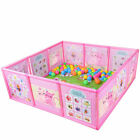 Cartoon Kids Play Pen Fence Playpen Baby Safety Pool Game Toddler Craw 47.2  D