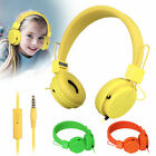 Kids Over Wired Ear Headphones Headband Kids Girl Earphones for iPad/Tablet US