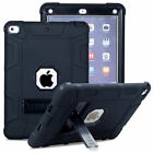 """For iPad 9.7"""" inch 6th 5th Generation 2018 Military With Rugged Stand Cover Case"""