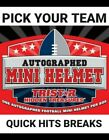 *PICK-YOUR-TEAM*  2019 TRISTAR MINI HELMET 1 BOX BREAKFootball Cards - 215