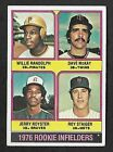 1976 Topps U-Pick w/ Stars, #s 551-660, Nice, Free Offerings, + Combined Shippng