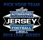 *PICK-YOUR-TEAM*  2018 LEAF JERSEY 1 BOX BREAK $5.99 USD on eBay
