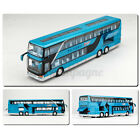 1:32 Alloy Double Layers Tour Bus Pull Back Car Model Sound& Light Kid Toy /·