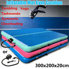 300x200cm Inflatable Gym Mat Air Track Tumbling Gymnastics Airtrack Training Pad