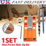 More images of 1 set Mini Pocket Hole Jig Kit W /  Step Drill Bit Style Woodworking Joint Tool