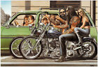 David Mann Poster Print - Harley Davidson - Wall Art Decor - Various Sizes $13.99 USD on eBay