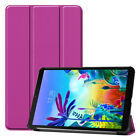 Shockproof PU Leather Magnetic Adsorption Cover Case For LG-G Pad 5 10.1 inch