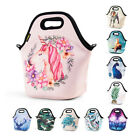 Insulated Lunch Bag for Women Men Kids Adult Neoprene Lunch Box School Work Tote