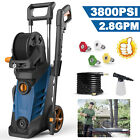 3800PSI 2.8GPM Electric Pressure Washer High Power Cold Water Cleane