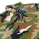 Polo Ralph Lauren Military USA Army Soldiers Camouflage Camp Shirt Big & Tall