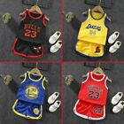 Kids Baby Boys Summer Basketball Clothes Child Boy Sports Outfits Sets Clothes