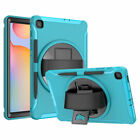 """For Samsung Galaxy Tab S6 Lite 10.4"""" P610 Tablet Case Rubber Hard Stand Strap"""