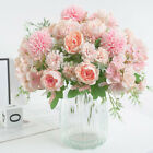 Silk Peony Artificial Fake Flowers Bunch Bouquet Home Wedding Party Decor SL