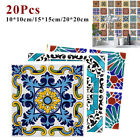 Wall Stickers Decoration Self-adhesive Mosaic Retro Colorful Waterproof Home