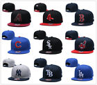 Embroidered Baseball Cap Snapback Adjustable MLB Team Logo Hats