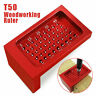More images of T-50 Measuring Tool Aluminum Woodworking T Type Scribe Mark Measurement Ruler AN
