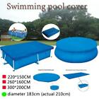 ground Swimming Pool Cover Dust Cover Rainproof Pool Cover Square and round US