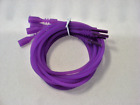 4 Fuchsia Pink Silicone Necklace Cord Funky Rubber Snap Add Pendant Pick Size