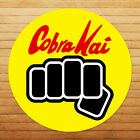 Funny Cobra Kai Punch No Mercy Karate Kid Car Window Wall Die Cut Decal Sticker