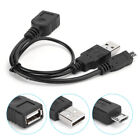 1/2/5 PCS Micro USB Data Cable Power Supply OTG Cable Adapter Y...