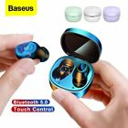 Baseus Bluetooth 5.0 Earbuds TWS Wireless Earphones with Microphone Headphones