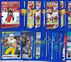 2020 DONRUSS FOOTBALL BLUE PRESS PROOF PARALLEL'S 1-350 PICK YOUR CARD