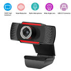 480P/720P/1080P Webcam Autofocus Web Camera w/ Microphone For PC Laptop Desktop