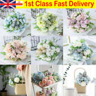 Real Touch Artificial Silk Flowers Bridal Wedding Bouquet Home Party Decorations