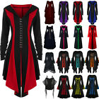 US Women Renaissance Halloween Witches Gothic Medieval Party Fancy Dress Costume