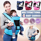Multifunction Baby Carrier Waist Stool Strap Removable Hip Seat Holder Safe Care