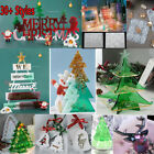 Christmas Decor Silicone Jewellery Casting Mold Resin Epoxy Mould Craft Tool Gdr