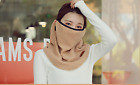 Winter Neck Gaiter Face Cover Scarf Sun UV Protection Windproof with Ear Loops