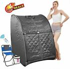 Best 2L Portable Folding Steam Sauna SPA Loss Weight Detox Therapy Bodyslim Tent