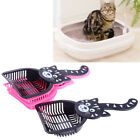 5Pieces Cat Litter Scoop Plastic Kitty Dog Tray Poop Sieve Pets Cleaning Shovel