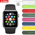 Silicone Replacement Strap Band Apple Watch Series 6 5 4 3 Iwatch 38/40/42/44mm
