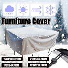 □waterproof Outdoor Furniture Cover Yard Uv Garden Table Chair Shelter
