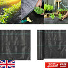 Weed Control Fabric Membrane Garden Ground Cover Mat Landscape Heavy Duty PP