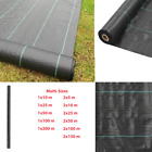 Weed & Root Control Mat PP Black Multi Sizes Cover Driveway Membrane  Heavy Duty