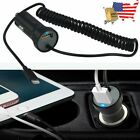 Car Charger+4ft USB Cord for Apple iPhone 12 Pro 12 Max 11 8 7 6s Pls X XS Max