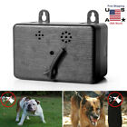 New Dog Anti Barking Device Outdoor Ultrasonic Bark Control Sonic Silencer Tools