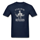 IT'S ALL IN THE REFLEXES BIG TROUBLE IN LITTLE CHINA 80S PARODY T-SHIRT TEE *MAN