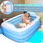 Winter Warm Bathtub Adult PVC Portable Spa Inflatable Bath Tub 0.6mm Thickness