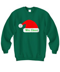 Mrs. Claus Couples Sweatshirt | Christmas Holiday Ugly Xmas Sweater