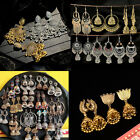 Women Indian Jewelry Jhumka Traditional Gold Silver Earrings Boho Style Jewelry